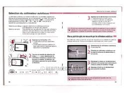 FRENCH Instruction Manual (Mode d'emploi) for Canon EOS 300 (Rebel 2000) 35mm Film SLR Camera
